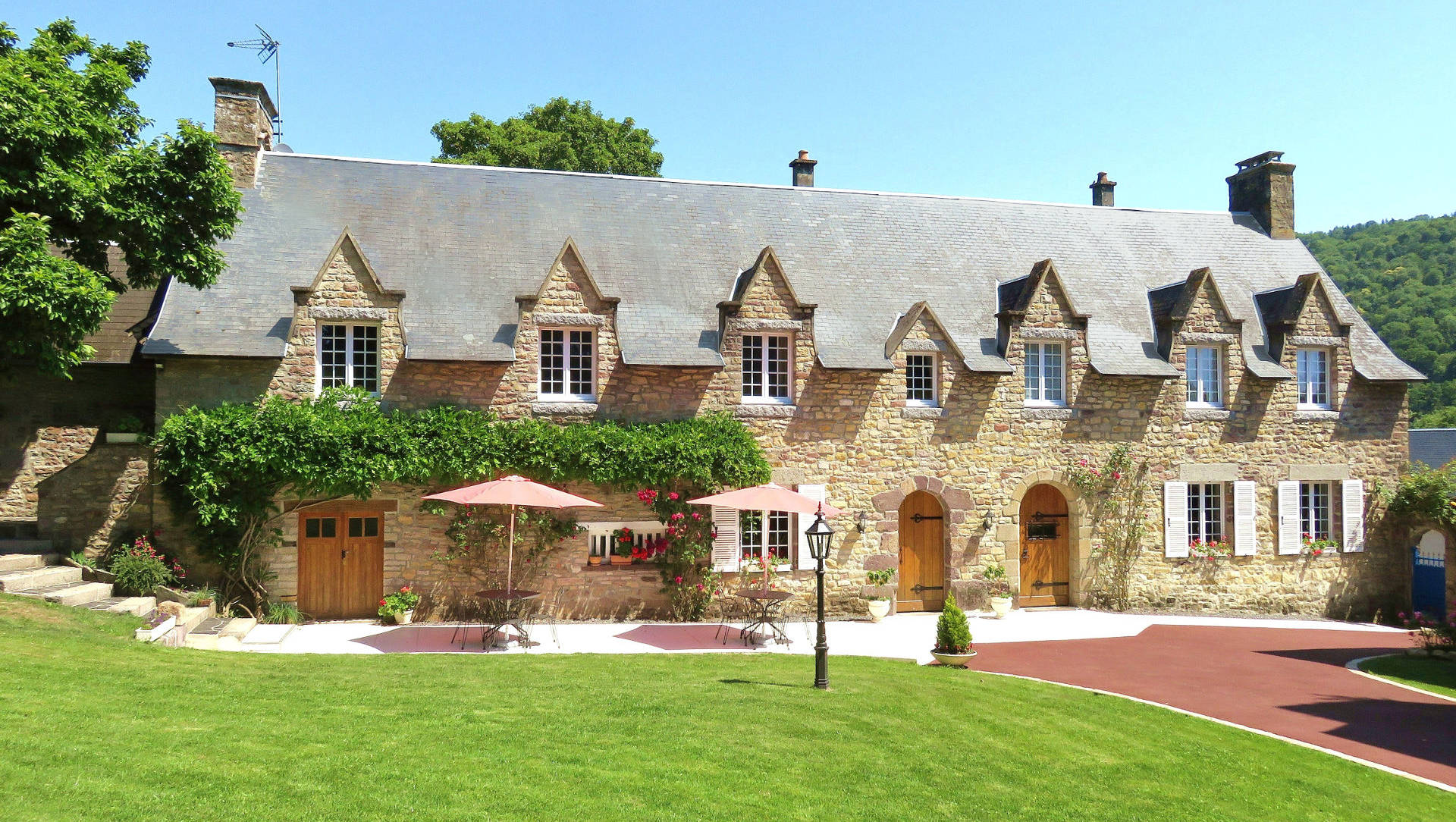 Meilleure maison d'hôte en Normandie, à Clecy.