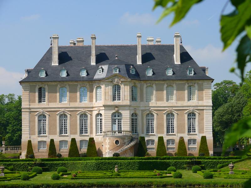 chateau Vendeuvre jardins